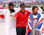 東奧8.4 女子滑板碗池賽 日本隊包攬冠亞軍