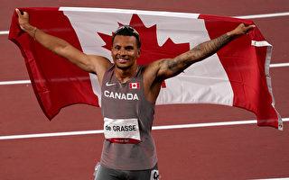 東奧男子200米決賽 加拿大名將格拉斯摘金