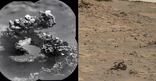 NASA好奇号探测车在火星发现石拱门