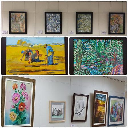 桃园疗养院心灵色彩画廊,病友脑中美丽境界。