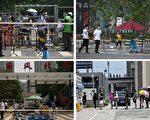組圖:疫情擴散 北京社區被封 防疫警戒升級