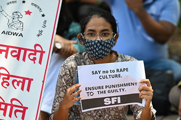 9岁女孩遭性侵谋杀 印度民众连3天示威抗议