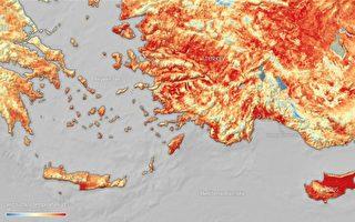 热浪袭地中海 地表温度再度飙破50℃