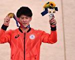 組圖:東奧體操單槓 日本橋本大輝奪得金牌