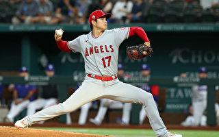 MLB先发6局仅失1分 大谷翔平第六胜入袋