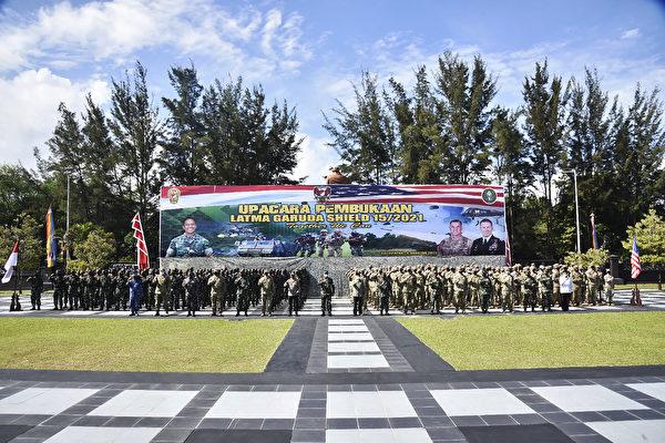 美國印尼進入新時代 啟動最大規模聯合軍演