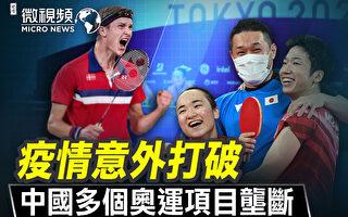 【微视频】疫情意外打破中国多个奥运项目垄断