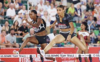東奧800米跑和400米跨欄 新澤西兩女孩摘金