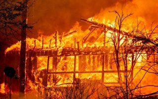 加州迪克西大火燒不停 電線或再成元兇