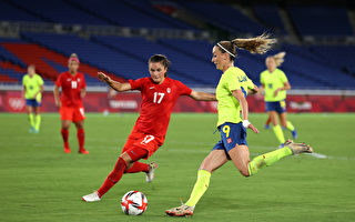東奧女子足球決賽 加拿大3:2勝瑞典奪金