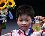 中国14岁女孩奥运夺金:赚钱给妈妈治病