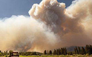 山火烟尘飘至湾区 空气质量警告延至周六