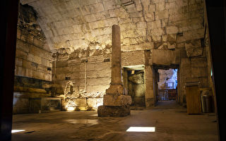 耶路撒冷西墙外出土两千年前华丽建筑