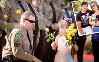 殉職警察五歲女兒上幼稚園首日 場面超感人