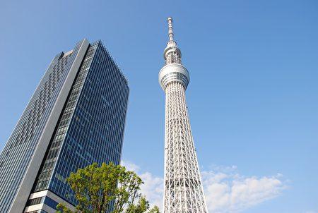 東京晴空塔。