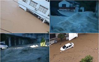 【一线采访】湖北洪水 村民:淹死不少人
