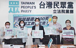 民眾黨團籲最低工資立法 學者提生活工資概念