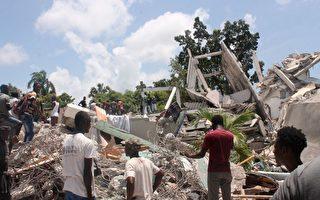 海地地震增至1300死 熱帶風暴威脅救援
