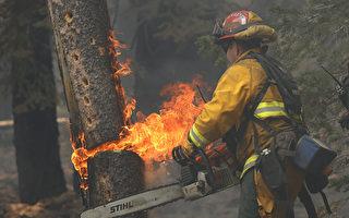 迪克西大火在風暴下改向 逼近加州2小城