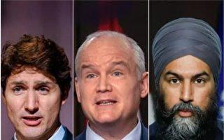 最新民調:自由黨、保守黨競選差距縮小