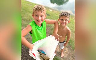 兩男孩在池塘邊遇險? 背後真相震驚巡警