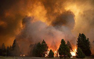 危险野火下 5.1万用户电力被切断