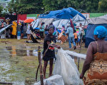 組圖:海地強震又遭風暴襲擊 逾兩千人死亡
