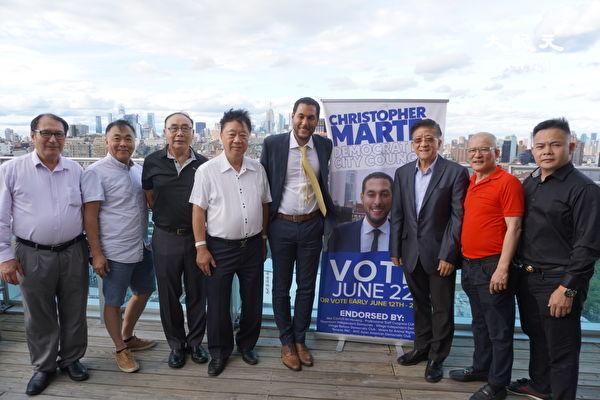 民主黨市議員候選人馬泰舉辦籌款活動
