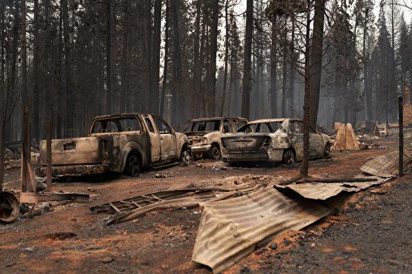 卡爾多山火延燒超6.5萬英畝 火勢仍零可控