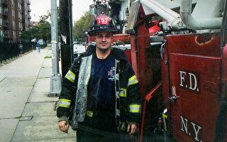 纪念911殉职消防员 他步行500英里