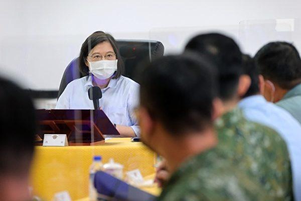 金門炮戰63週年 蔡英文:堅定信念守護台灣