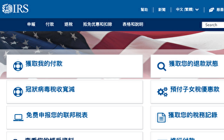 """美国税局推新功能 便利领""""子女税优惠""""家庭更新地址"""