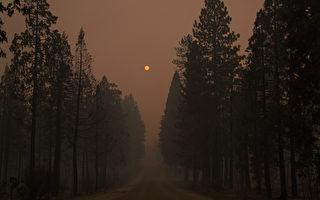 山火煙霧籠罩 太浩湖空氣質量全美最差