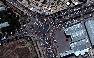 组图:逾七万人撤离阿富汗 最新空拍画面曝光