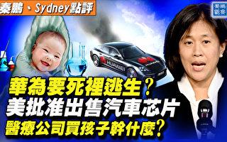 【秦鵬直播】美批准賣汽車芯片給華為 對全球啥影響