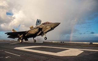 英航母和美舰完成48小时飞行行动 F-35出动