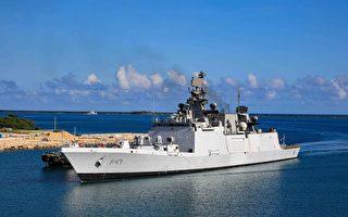 美日印澳在南海联合军演 应对中共威胁