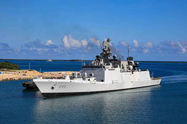 美日印澳在南海聯合軍演 應對中共威脅