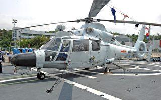中共首派直9反潛直升機擾台 遭台空軍驅離