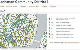 曼哈顿第三社区贫富差距增大 学校亟待扩建