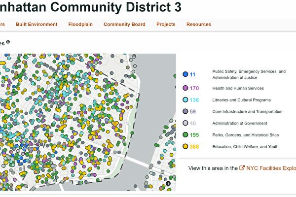 曼哈頓第三社區貧富差距增大 學校亟待擴建