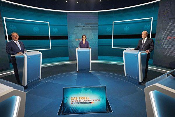 德國三候選人首次電視辯論 民調:舒爾茨勝出