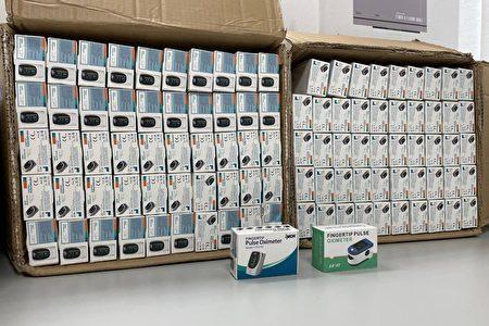 澄希贸易公司涉嫌以计步器名义,自中国输入血氧机5,100台。