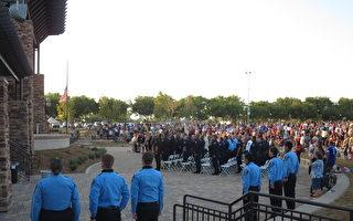 组图:向英雄致敬 南加举行阵亡军人纪念仪式