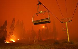 卡爾多山火繼續延燒 阿爾派因縣撤離令擴大