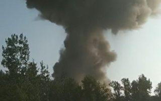 太原江阳化工厂发生爆炸 附近房屋玻璃震碎