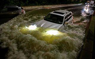 創紀錄降雨釀45死 紐約新澤西進入緊急狀態