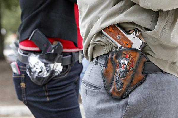 新持槍法案正式生效 德州人可以無證持槍