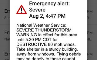 風暴季節來臨 手機幫您預警