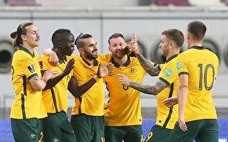 世界杯预选赛 中国男足0:3不敌澳洲队